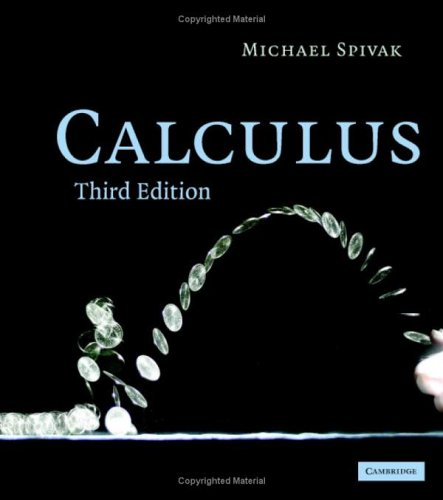 Calculus  3rd 2006 (Revised) 9780521867443 Front Cover