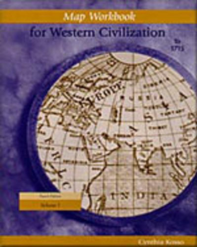 Map Workbook for Western Civilization  4th 2000 9780534568443 Front Cover