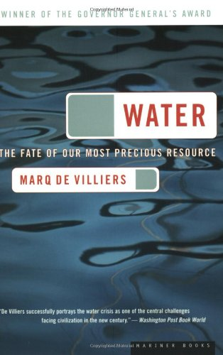 Water The Fate of Our Most Precious Resource  2001 edition cover