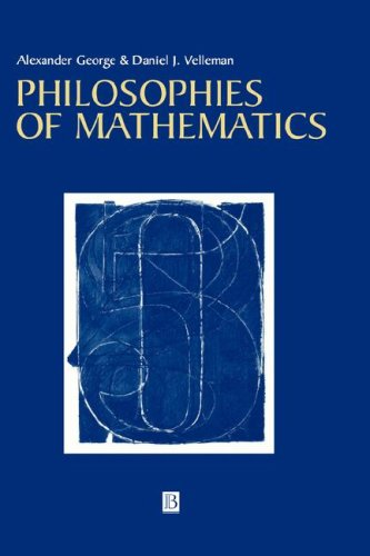 Philosophies of Mathematics   2001 edition cover