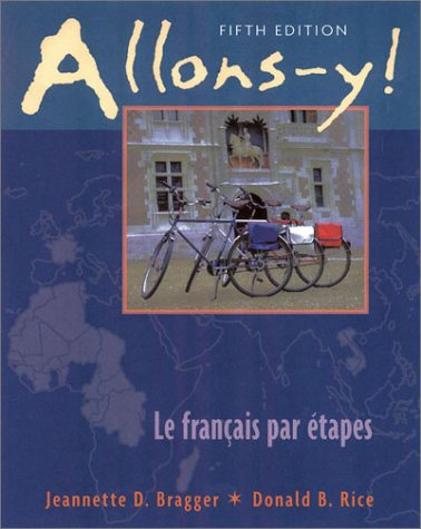Allons-Y! Student Text 5th 2000 edition cover