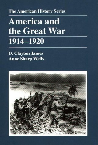 America and the Great War, 1914-1920   1998 edition cover