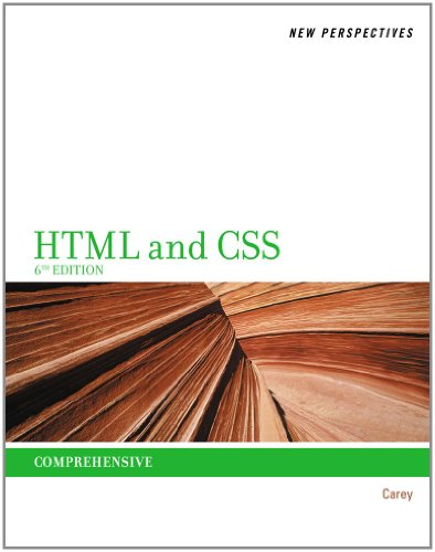 HTML and CSS Comprehensive 6th 2012 edition cover