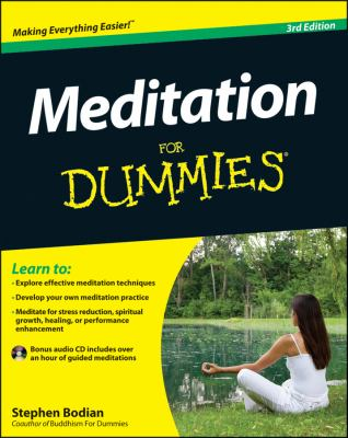 Meditation for Dummies�  3rd 2012 edition cover
