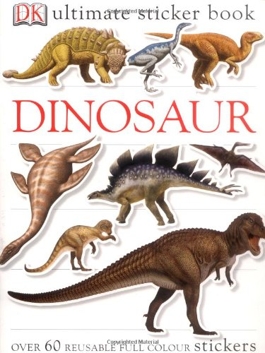 Dinosaur Ultimate Sticker Book  2004 9781405304443 Front Cover