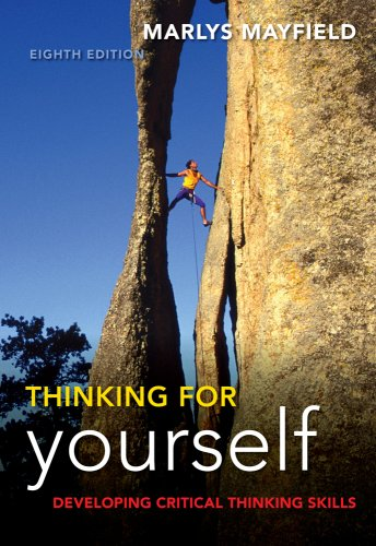 Thinking for Yourself  8th 2010 9781428231443 Front Cover