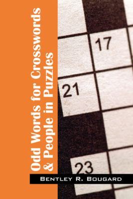 Odd Words for Crosswords and People in Puzzles  2012 edition cover