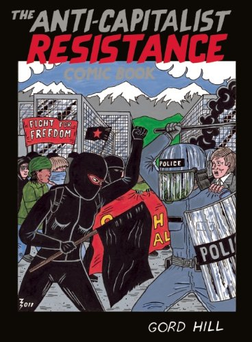 Anti-Capitalist Resistance Comic Book From the WTO to the G20  2012 edition cover