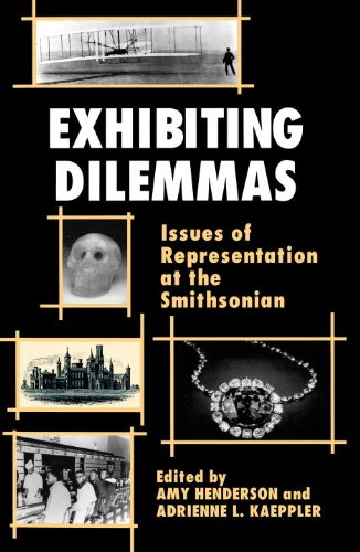 Exhibiting Dilemmas Issues of Representation at the Smithsonian N/A edition cover