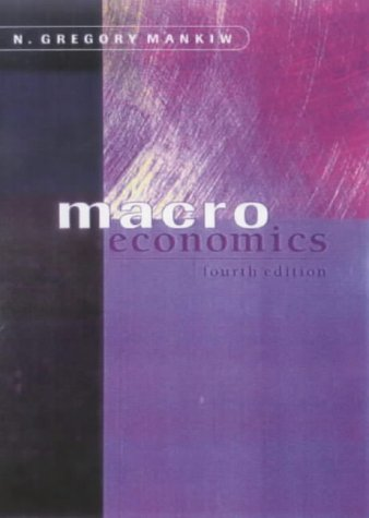 Macroeconomics  4th 2000 edition cover