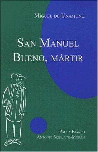San Manuel Bueno, Martir   2005 edition cover