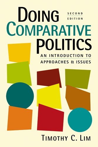 Doing Comparative Politics An Introduction to Approaches and Issues 2nd 2010 edition cover
