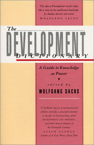 Development Dictionary A Guide to Knowledge as Power  1992 edition cover