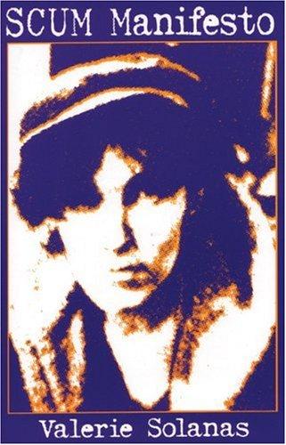 SCUM Manifesto   1996 edition cover