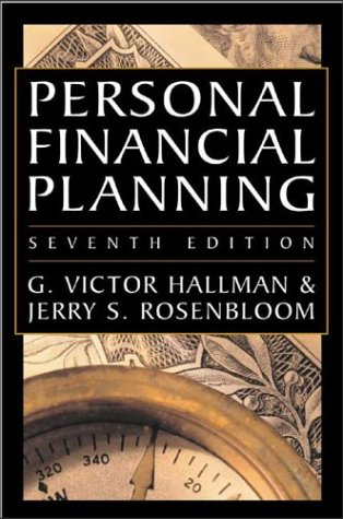 Personal Financial Planning  7th 2003 (Revised) edition cover