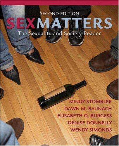 Sex Matters The Sexuality and Society Reader 2nd 2007 (Revised) edition cover