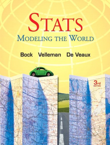 Stats Modeling the World 3rd 2010 edition cover