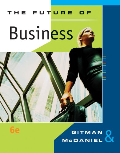 Future of Business  6th 2008 edition cover