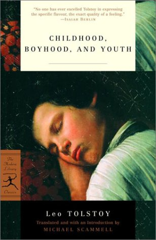 Childhood, Boyhood, and Youth   2002 edition cover