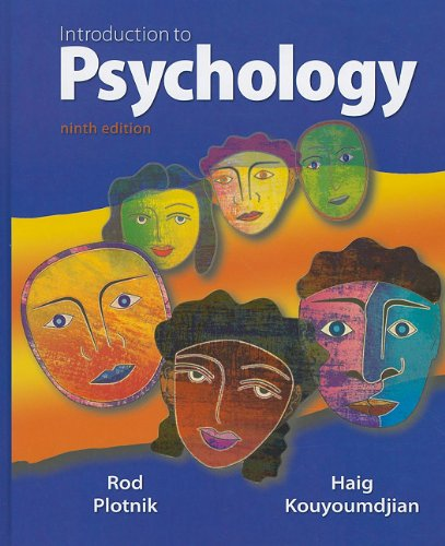 Introduction to Psychology  9th 2011 edition cover
