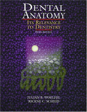 Dental Anatomy : Its Relevance to Dentistry 5th 1997 (Revised) 9780683300444 Front Cover