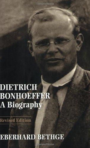 Dietrich Bonhoeffer   2000 (Revised) edition cover