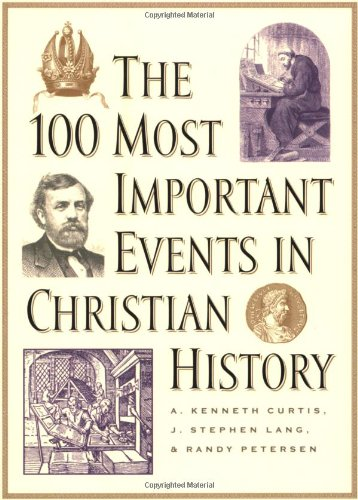 100 Most Important Events in Christian History  N/A edition cover
