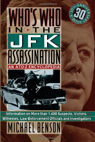 Who's Who in the JFK Assassination An A to Z Encyclopedia N/A edition cover