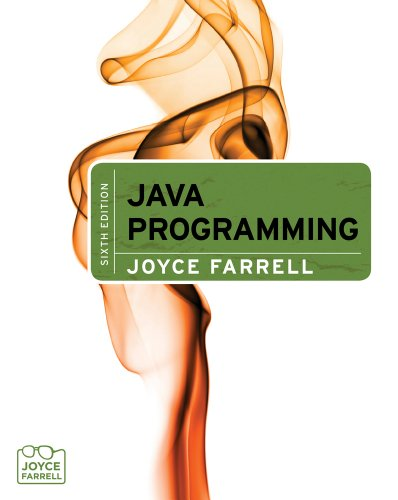 Java Programming  6th 2012 edition cover