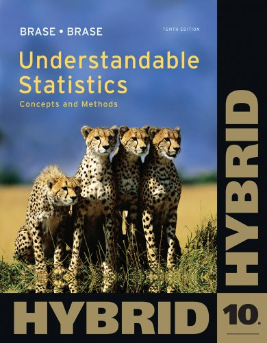 Understandable Statistics Concepts and Methods 10th 2013 edition cover