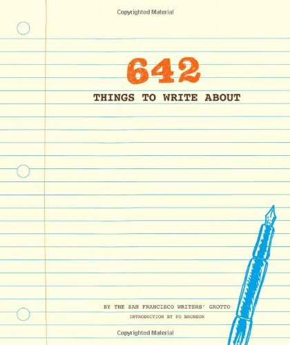 642 Things to Write About  N/A 9781452105444 Front Cover