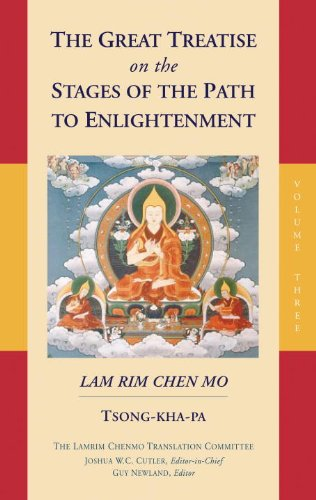 Great Treatise on the Stages of the Path to Enlightenment (Volume 3)   2015 9781559394444 Front Cover