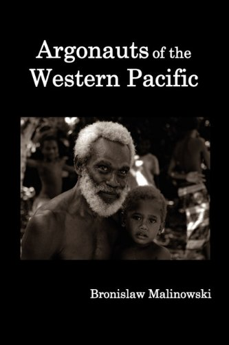 Argonauts of the Western Pacific; an Account of Native Enterprise and Adventure in the Archipelagoes of Melanesian New Guinea  2010 edition cover