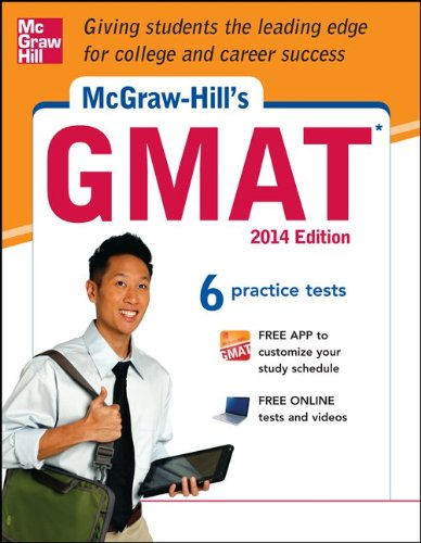 Mcgraw-hill's Gmat, 2014:   2013 edition cover