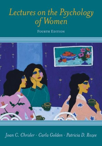Lectures on the Psychology of Women  4th 2008 (Revised) edition cover