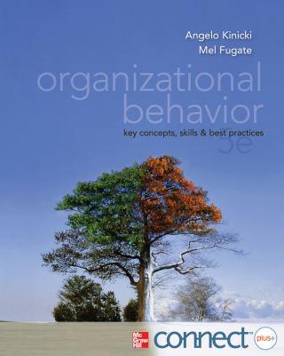 Organizational Behavior  5th 2012 edition cover