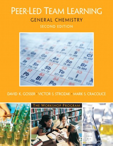 Peer-Led Team Learning General Chemistry 2nd 2006 edition cover