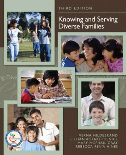 Knowing and Serving Diverse Families  3rd 2008 edition cover