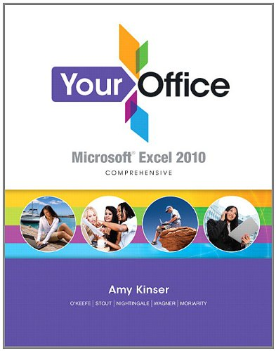 Your Office Microsoft Excel 2010 Comprehensive  2012 edition cover