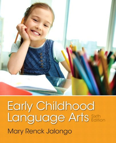 Early Childhood Language Arts  6th 2014 edition cover