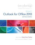 Exploring Getting Started with Microsoft Outlook for Office 2013   2016 9780133431445 Front Cover