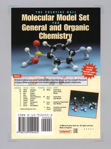Prentice Hall Molecular Model Set for General and Organic Chemistry   1998 (Supplement) edition cover