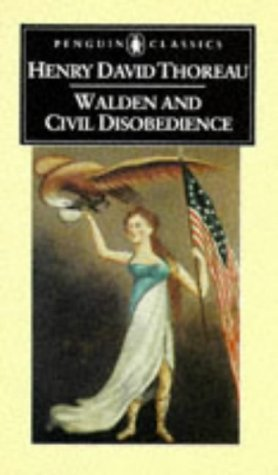 Walden and Civil Disobedience   2002 edition cover