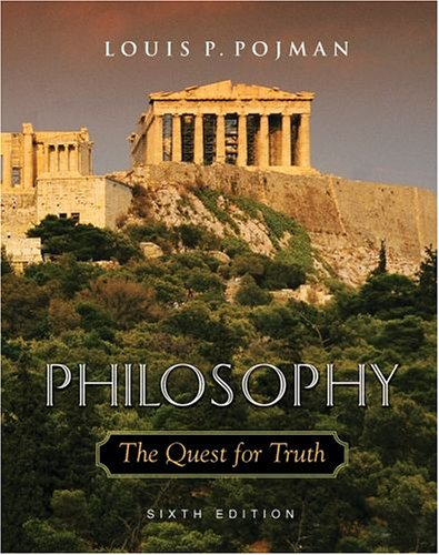 Philosophy The Quest for Truth 6th 2005 (Revised) edition cover
