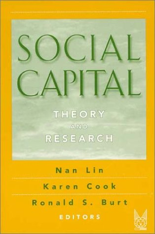 Social Capital Theory and Research  2001 edition cover