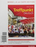 Treffpunkt Deutsch Grundstufe, Books a la Carte Edition 6th 2013 edition cover