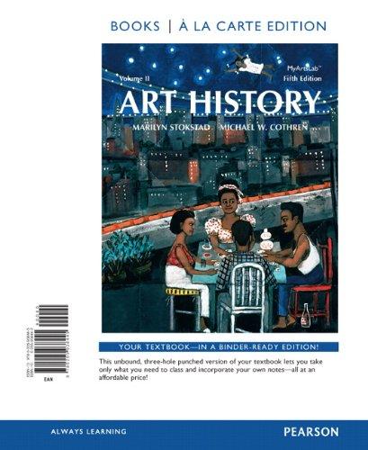 Art History, Books a La Carte Edition:   2013 edition cover