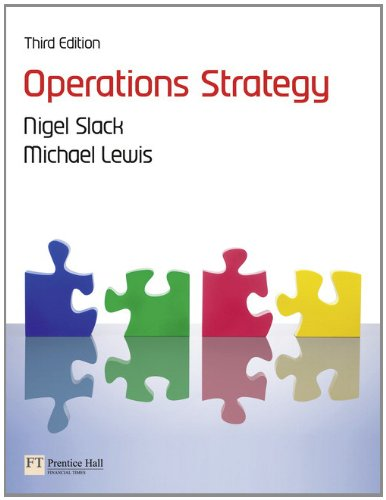 Operations Strategy  3rd 2011 (Revised) edition cover