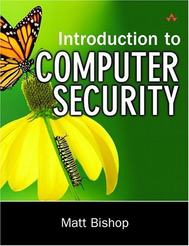 Introduction to Computer Security   2005 edition cover