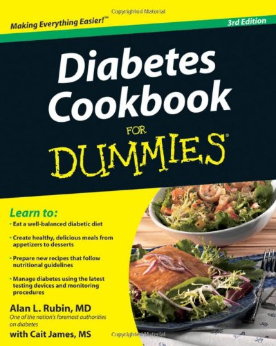 Diabetes Cookbook for Dummies  3rd 2010 edition cover